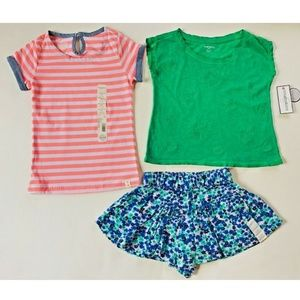 Toughskins Girls' Tops & Skort Size S (4)
